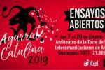 Afiche ensayos abiertos de Agarrate Catalina