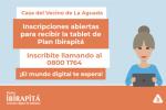 Tablets - Casa del Vecino Aguada