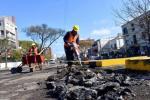 Tras garantizar las medidas de higiene y salud para las y los trabajadores se retoman las obras suspendidas.