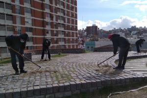 Municipio B dio la bienvenida a quienes comenzaron a realizar tareas en el marco del Programa Oportunidad Laboral.