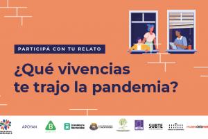 La Red de Equidad y Género del Municipio B lanza una convocatoria para compartir vivencias de la pandemia.