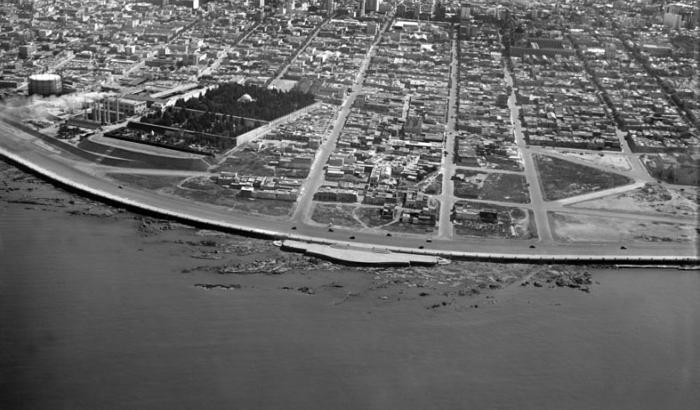Vista aérea. Año 1935 (Foto 271e FMH.CMDF.IMM.UY)