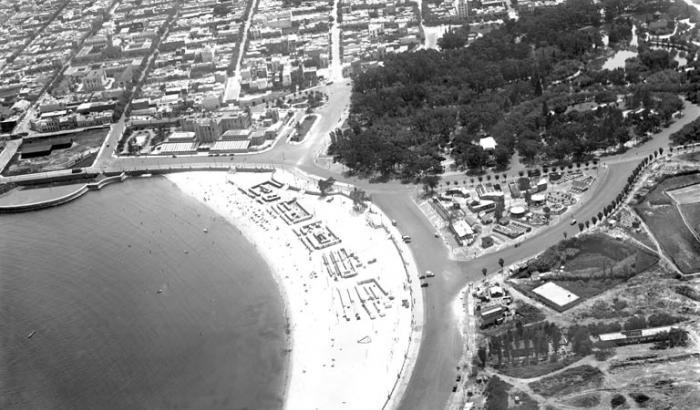 Vista aérea. Año 1930 (Foto 123e FMH.CMDF.IMM.UY)