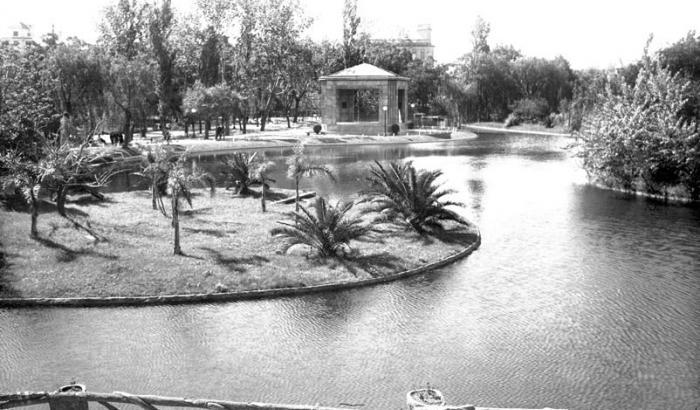 Parque Rodo. Año 1931 (Foto 707a FMH.CMDF.IMM.UY)