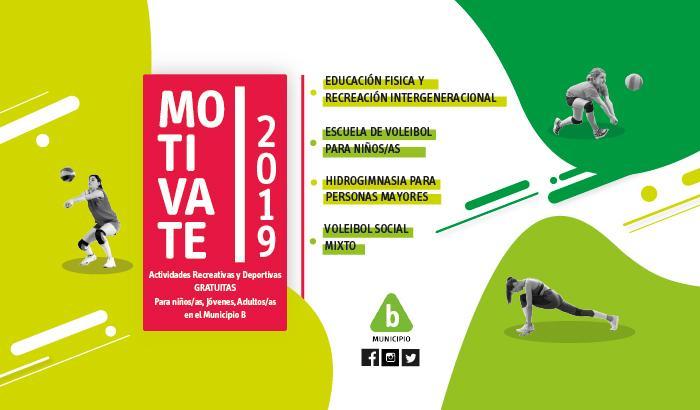 Afiche Motivate 2019