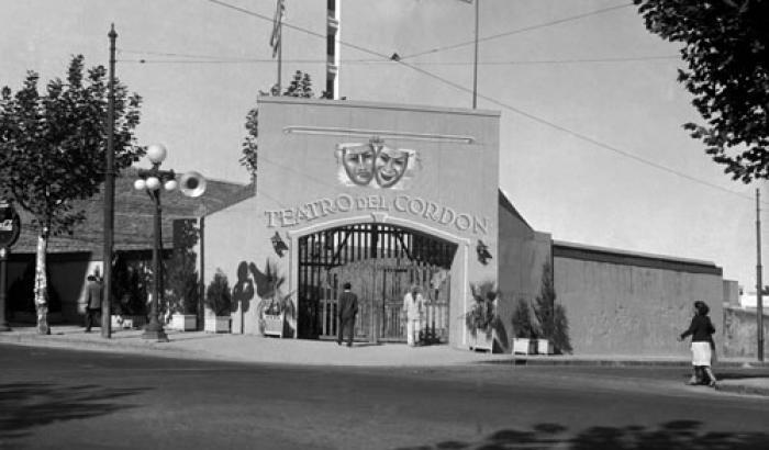 Teatro del Cordón  año 1948 (Foto 8426 FMH.CMDF.IMM.UY)