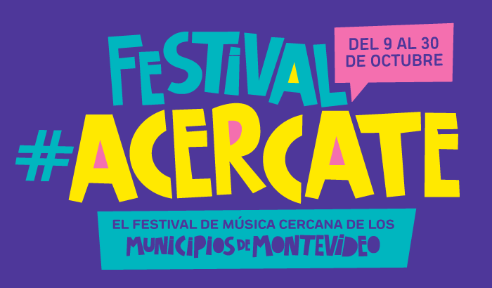Acercate al primer festival de bandas emergentes de los municipios de Montevideo.