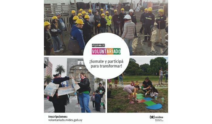 Están abiertas las inscripciones para la edición 2020 del Programa Nacional de Voluntariado y Prácticas Solidarias.