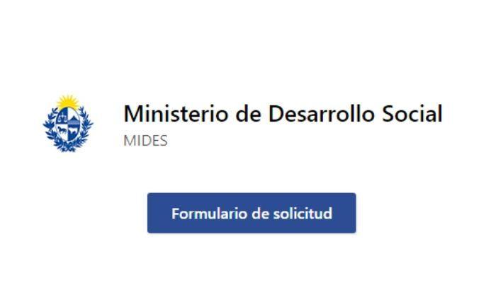 Accedé al Formulario de solicitud de la canasta ante la Emergencia Alimentaria de Ministerio de Desarrollo Social.