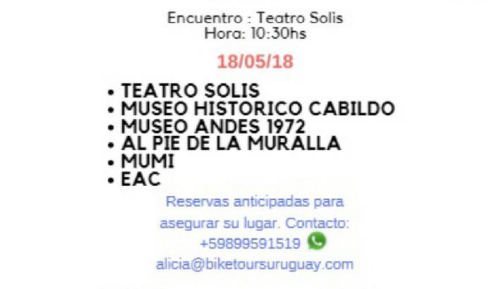 Bike Tours en el Día de los Museos