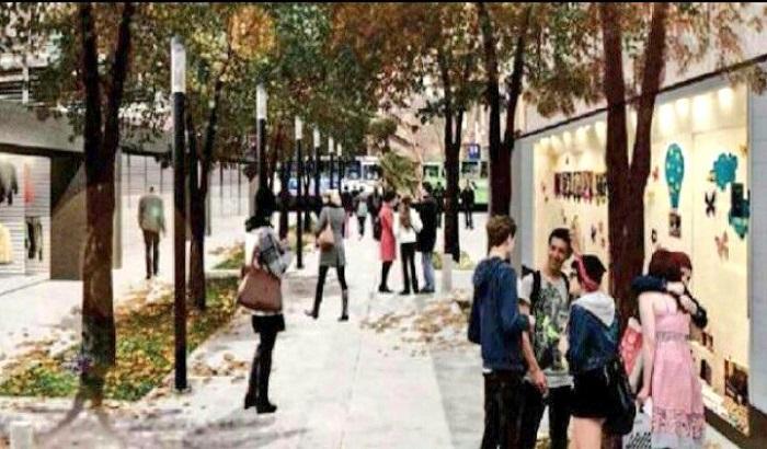 El Alcalde Varela confirmó el comienzo de obras en la Plaza Oribe que llevará a un traslado transitorio de la feria comercial.