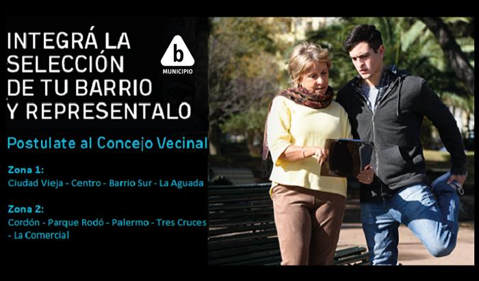 Inscripciones. Vecinos y vecinas del Municipio B podrán presentarse como Concejales Vecinales.