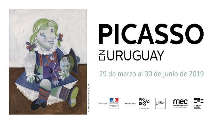 primera exposición de Picasso a realizarse en Uruguay.