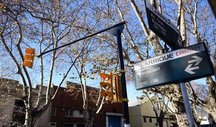 Nuevos semáforos en Av. Rondeau y Venezuela y Av. Rondeau y Asunción.