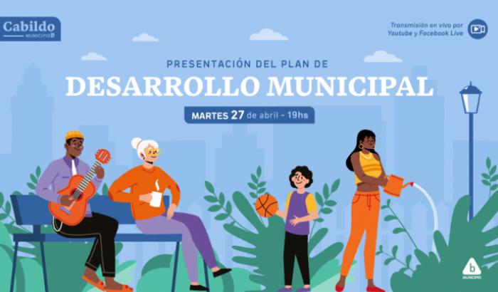El Municipio B presenta su Plan de Desarrollo Municipal, producto de un proceso de construcción colectiva.